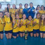 Italiano Balónmano y Santiago Steels se titularon campeones nacionales infantiles de handball