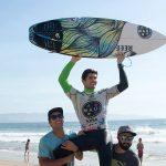 Manuel Selman ganó el Maui And Sons Viña del Mar Pro by Cerveza Corona 2017