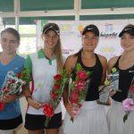 Fernanda Labraña obtiene el vicecampeonato de dobles en la Copa Barranquilla