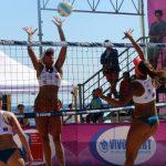 Chris Vorpahl y Fabianne Boogaerdt ganaron la cuarta fecha de la Liga Nacional de Volleyball Playa