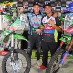 Kawasaki CIDEF renovó apoyo para Cristóbal Guldman y Patricio Cabrera