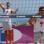 Los primos Grimalt animarán la octava fecha de la Liga Nacional de Volleyball Playa