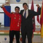 Rodrigo González se consagró campeón en torneo juvenil de esgrima en Madrid