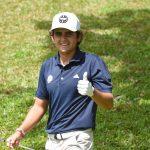 Tomás Gana es uno de los líderes del Latin America Amateur Championship