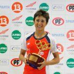 Bárbara Riveros recibió el premio a la mejor deportista chilena del 2016