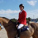 Alexandr Imschenetzky obtiene el segundo lugar en concurso ecuestre de Portugal