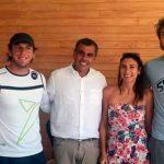 Alessandro Calbucci, la leyenda del tenis playa, llegó a Iquique para dictar una clínica