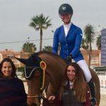 Carmen Novion y Xavier Varela triunfan en Concurso Internacional de Salto en Valencia