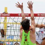 Chile instaló dos parejas en los cuartos de final de la primera fecha del Circuito Sudamericano de Volleyball Playa