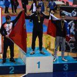 Taekwondista Cristian García obtuvo medalla de bronce en torneo español