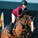 Josefa Palma obtiene el cuarto lugar en torneo ecuestre español