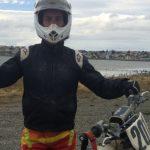Puntarenense José Hidalgo ganó el Enduro Internacional Glaciares de Tierra del Fuego
