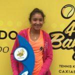 Josefa Fernández se tituló campeona del Banana Bowl 2017 en categoría 16 años