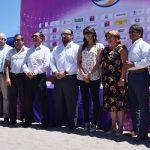 Este jueves se realizó el lanzamiento de la primera fecha del Circuito Sudamericano de Volleyball Playa