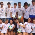 Este domingo finalizó la primera fecha del Circuito de Menores de Volleyball Playa
