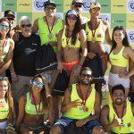 Primos Grimalt y dupla Vorpahl-Boogaerdt ganaron la séptima fecha de la Liga Nacional de Volleyball Playa