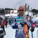 Yonathan Fernández logró el puesto 41 en el Mundial de Ski Nórdico