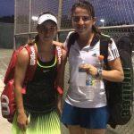 Fernanda Labraña y Matías Soto se titularon campeones de dobles en el Asunción Bowl