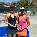 Alexa Guarachi se tituló campeona de dobles del ITF de Tampa