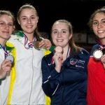 Arantza Inostroza gana medalla de bronce en el florete femenino del Panamericano Juvenil de Esgrima