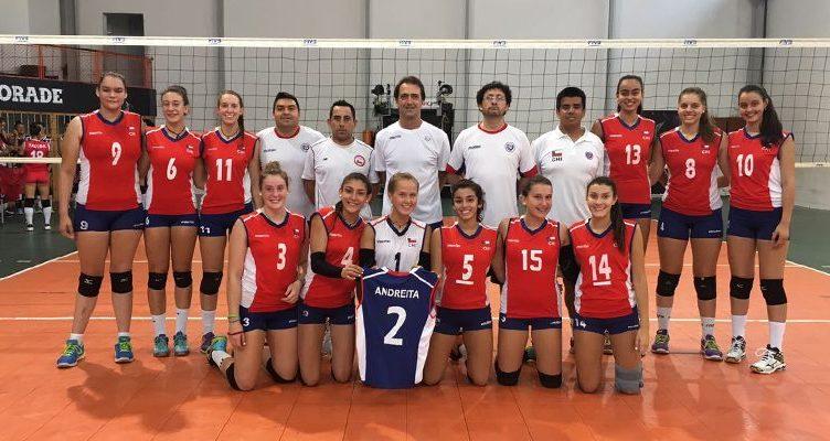 equipo de voleibol femenino chileno
