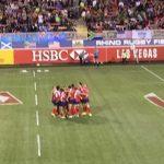 Chile debutó en el Seven de Las Vegas con derrotas ante Inglaterra y USA