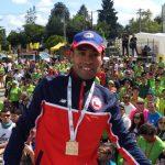 Enzo Yañez se consagró como campeón sudamericano de maratón
