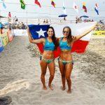 Chile obtuvo medallas de plata y bronce en la segunda fecha del Circuito Sudamericano de Volleyball Playa