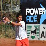 Gerónimo Barrios cayó en la última ronda de la qualy del Futuro 9 de Túnez