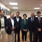 Importante reunión para promover el fútbol femenino sostuvieron autoridades deportivas y ministra Claudia Pascual