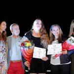 María Fernanda Valdés y Natalia Duco recibieron sus diplomas olímpicos de Londres 2012