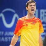 Tomás Barrios se tituló campeón de dobles del Futuro 3 de Grecia