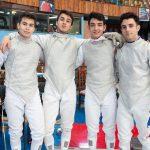 Equipos nacionales obtuvieron buenos resultados en el Panamericano Cadete de Esgrima