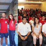 Este lunes se despidió a la delegación chilena que participa en los Juegos Juveniles Parapanamericanos