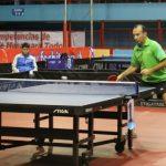 Alejandro Rodríguez destacó en el arranque del Chile Open de tenis de mesa