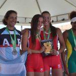 Chile gana ocho medallas de oro en primera jornada del Sudamericano de Remo