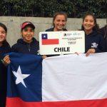 Equipo femenino nacional sumó su primer triunfo en el Sudamericano Sub 16 de Tenis