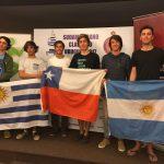 Chile se tituló bicampeón sudamericano de la clase 420 de velerismo