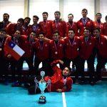 Chile obtiene medalla de bronce en el Panamericano Juvenil Masculino de Handball