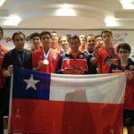 Chile obtuvo seis medallas en el Panamericano de Racquetball 2017