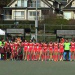 """Las """"Diablas"""" debutaron con un triunfo en la Ronda 2 de la World League Femenina de Hockey Césped"""