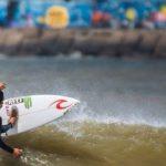 Guillermo Satt se instaló entre los 32 mejores surfistas del Rip Curl Pro Argentina
