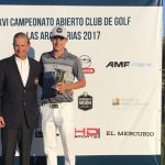 Joaquín Niemann ganó el Abierto de Golf Las Araucarias 2017