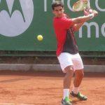 Jorge Monteró cayó en singles y dobles del Futuro 5 de Canadá
