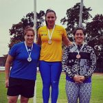 Karen Gallardo y Alfredo Sepúlveda ganaron medallas de plata en Grand Prix argentino