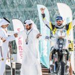Pablo Quintanilla terminó segundo en la tabla general del Abu Dhabi Desert Challenge