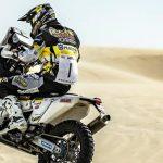 Pablo Quintanilla llegó tercero en la segunda etapa del Rally de Qatar