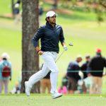 Tomás Gana tuvo un complicado debut en el Masters de Augusta