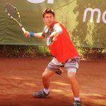 Bruno Faletto cayó en primera ronda de dobles del Futuro 17 Túnez