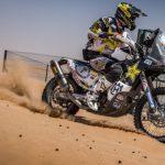 Pablo Quintanilla llegó segundo en primera etapa del Abu Dhabi Desert Challenge